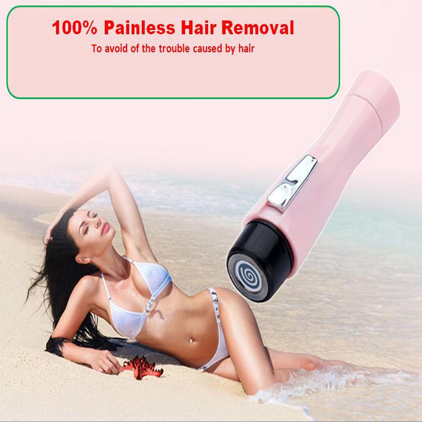 Mini WaterProof Epilator Portable Electric Shave Eyebrow Trimmer Hair Remover Body Bikini Shaver Razor Epilator For Women