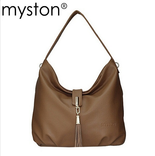 Free delivery of 2015 new litchi grain genuine leather bag ladies leather handbags shoulder bag(China (Mainland))