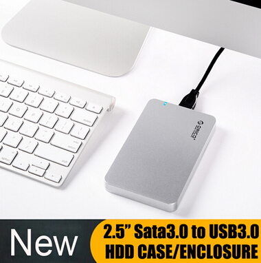 """(Only Case) 2.5"""" SATA3.0 To USB3.0 HDD ENCLOSURE hd externo hdd Case Support 1TB External Hard Drive/SDD Storage for Computer(China (Mainland))"""