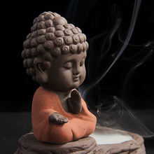 Incense Burners Censer Smoke Tower Zen Buddha Ceramic Double Uses Backflow  Assuaging and Calming Home Furnishing Ornaments(China (Mainland))