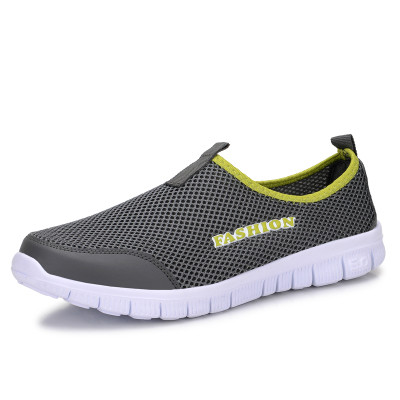 AAKT Brand Men Shoes 2016 Latest Spring Summer Autumn Breathable Air Mesh Beach Sandals Shoes Outdoor Slip-on Jogging Shoes(China (Mainland))