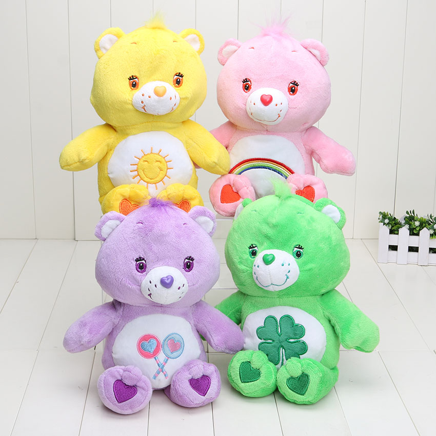 Care Bears 30cm Japanese Care Bears Soft Plush doll toy Stuffed Animal kids toys Christmas gift(China (Mainland))