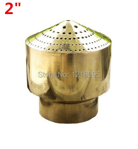 """Copper dn50 2"""" fireworks nozzle water features nozzle fountain nozzle shower fountain head free shipping(China (Mainland))"""