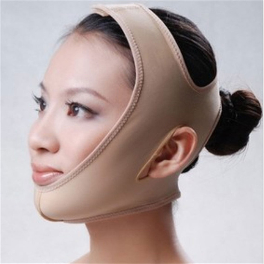 Mint 2016 New Facial Slimming Bandage Skin Care Belt Shape And Lift Reduce Double Chin Face Mask Aug09