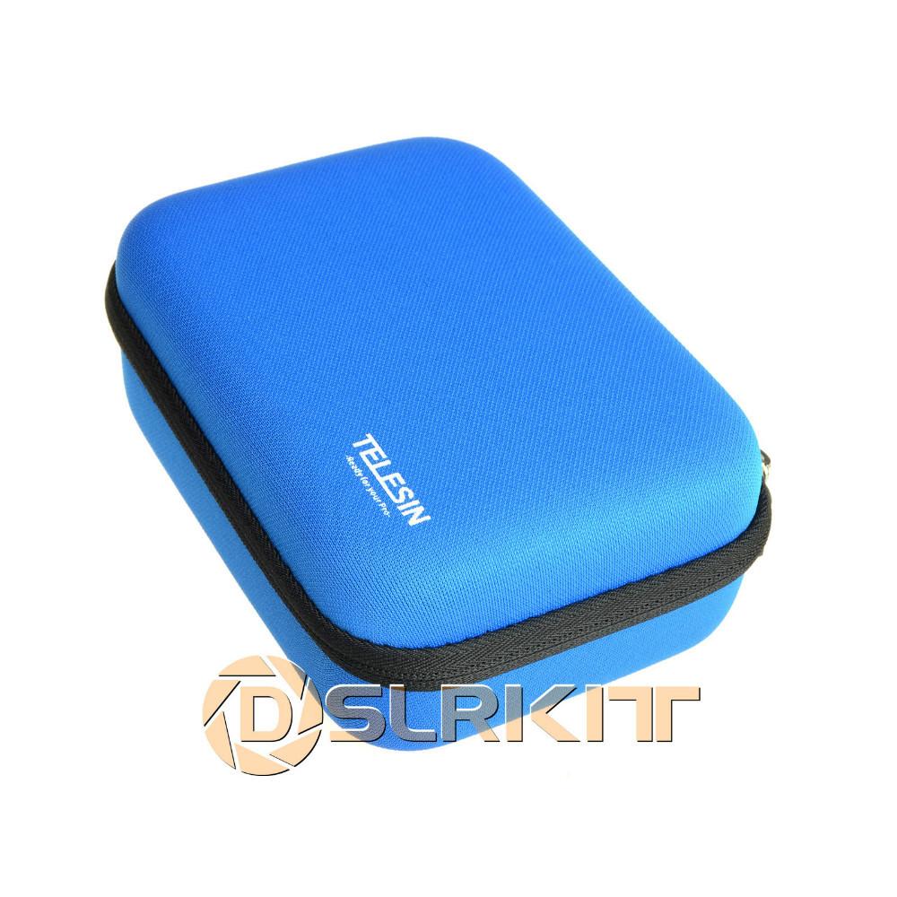TELESIN Blue Gopro Bag Case For Gopro Hero3 HD Hero2 Hero1 <br><br>Aliexpress