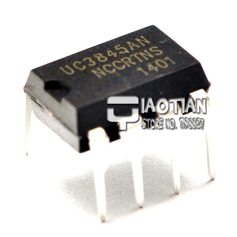 Интегральная микросхема QIAOTIAN UC3845AN UC3845 dip/8 PWM 100% UC3845AN UC3845 DIP-8 High Performance Current-mode PWM Control 100% ob2262ap dip 8