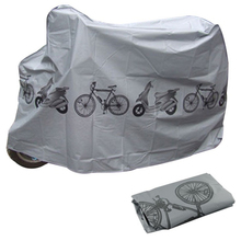polyester Motorcycles waterproof Bike Cycle Bicycle dust proof cover Rain Snow Dust Protector Cover for bike(China (Mainland))