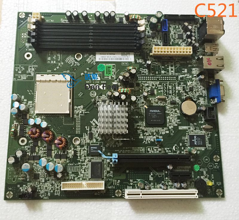 HY175 0HY175 For DELL Dimension C521 Desktop Motherboard FM2 Mainboard 100%tested fully work(China (Mainland))