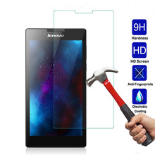 Buy Tempered Glass Lenovo Tab 2 A7-10 A7-10F A7-20 A7-20F A7-30 A7-30HC A7-30DC Tab2 A7 20 30 Screen Protector Protective Film for $3.99 in AliExpress store