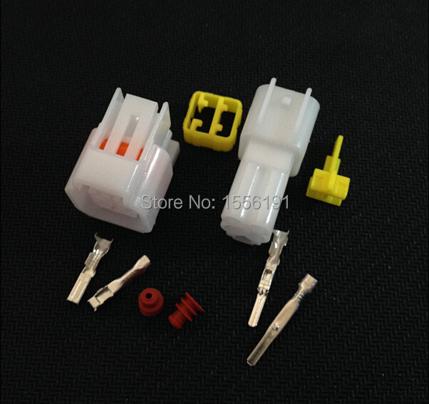5 Sets/Kit 4 Pin/Way DJ7041Y-2.3-21/11,Waterproof Electrical Wire Connector Male and female Automobile Connector(China (Mainland))