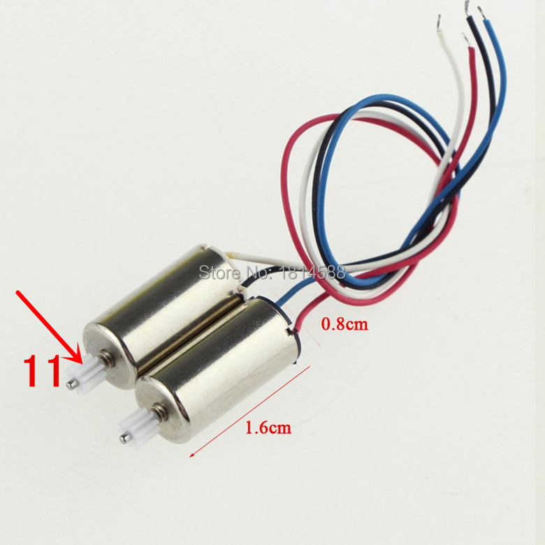 2PCS Main Motors Syma MAX X9 Flying Car 4CH Rc Spare Part Parts Accessory Accessories(China (Mainland))