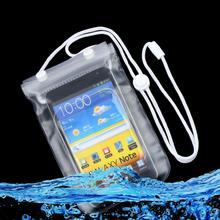 Мобильный телефон водонепроницаемый футляр сухой мешок Прозрачный С Scrub Оптовая