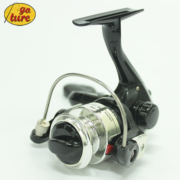 Special Offer 100 Mini Spinning Fishing Reel Fixed Spool Reel Ice Raft Coil Pesca 6BB(China (Mainland))