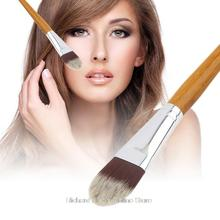 New Bamboo Handle Soft Makeup Cosmetic Foundation Powder Blush Brush Professional Beauty Tool