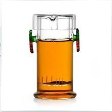 Free Shipping/Coffee & Tea Sets +240ml glass flower teapot