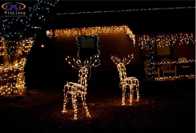 3.5 מ ' 96 SMD לבן חג פסטיבל וילון החתונה אורות LED מחרוזת רצועת קרח בר המנורה זרי פרחים על מסיבת פיות חג המולד
