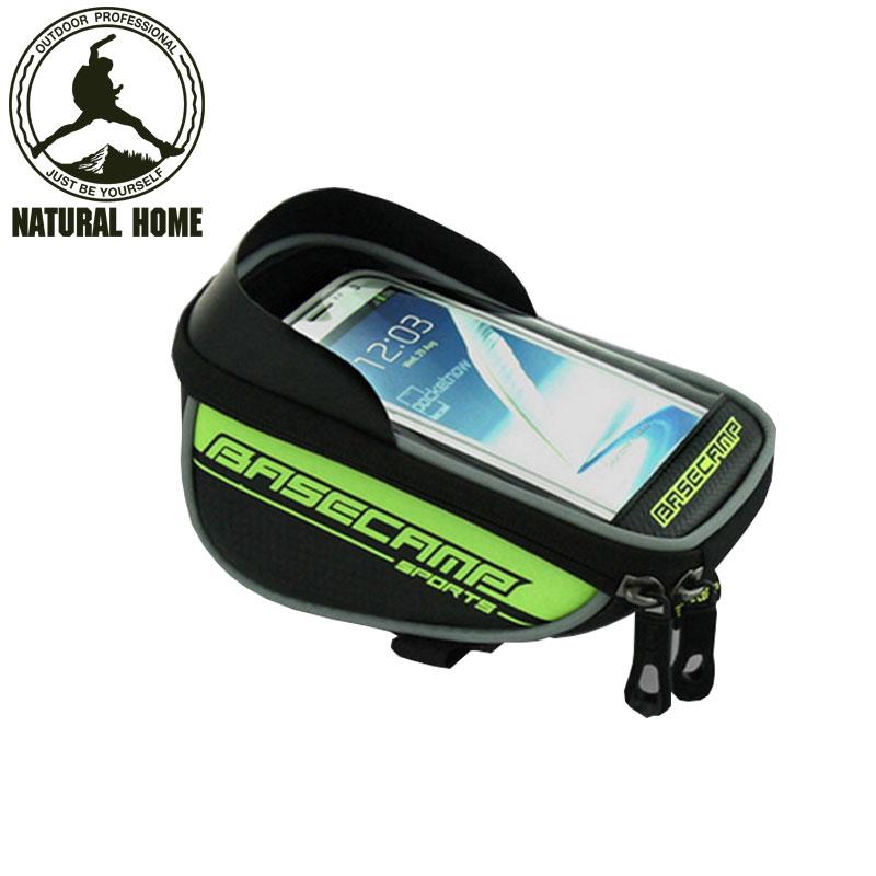 [NaturalHome] Brand Mountain Bikes Bag for Bicycles Tool Bag Phone Bike Frame Cycling Bags Mtb Sports Bolsa Bicicleta Mochila(China (Mainland))