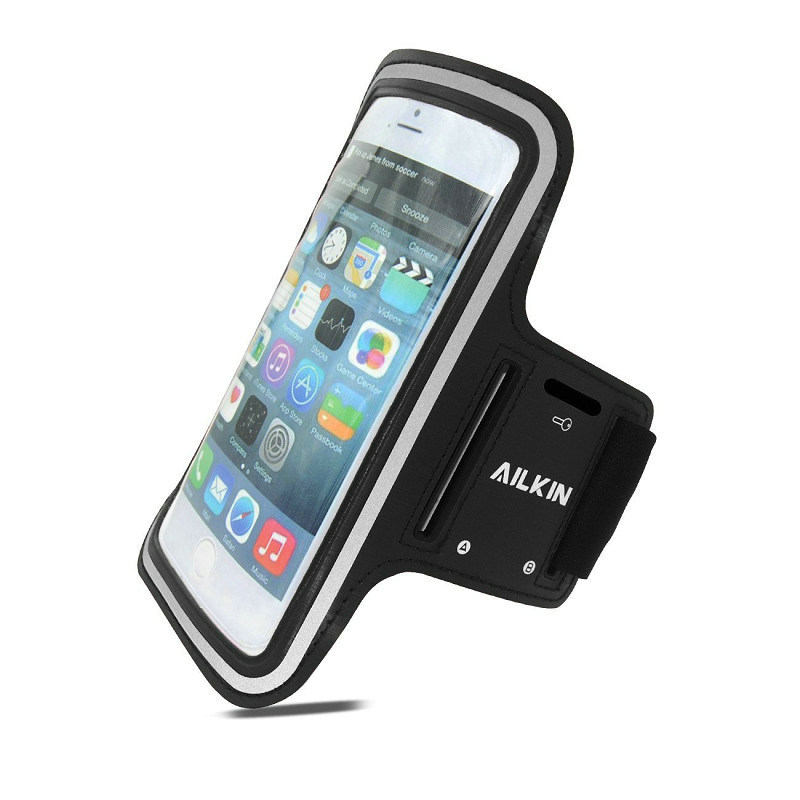 AILKIN Sports Armbands Designed For Apple iPhone 6 Plus Armband Case Cover Waterproof Cases Mobile Phone Bag For iPhone 6 Plus