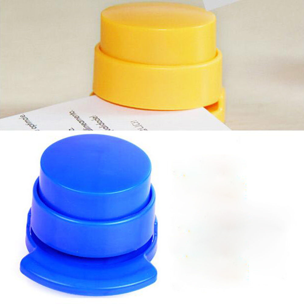 Mini grapadora grapas de los clientes compras en l nea - Grapadora de mano ...