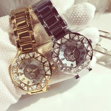 Buy New Top brand BS watch women luxury dress full steel watches fashion casual Ladies quartz watch silver gold Female table clock for $27.99 in AliExpress store