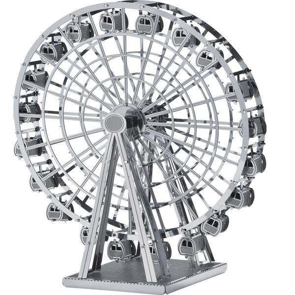 Wheel 3d Model Model Ferris Wheel Diy