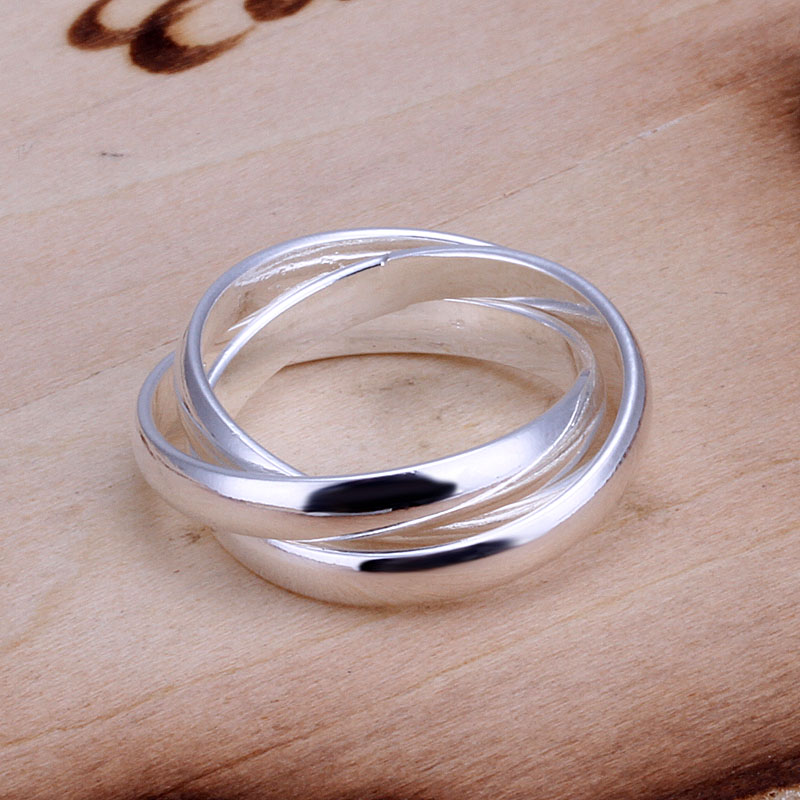 Free Shipping 925 Sterling Silver Ring Fine Fashion Silver Jewelry Ring Women Finger Rings Wedding Gift Top Quality SMTR167(China (Mainland))