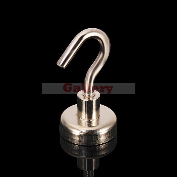 Гаджет  2015 Special Offer New Neodymium Magnets Atacado Imanes N35 42x52mm Hook Pot Magnet Pulling Mounting Salvage Tool  None Строительство и Недвижимость