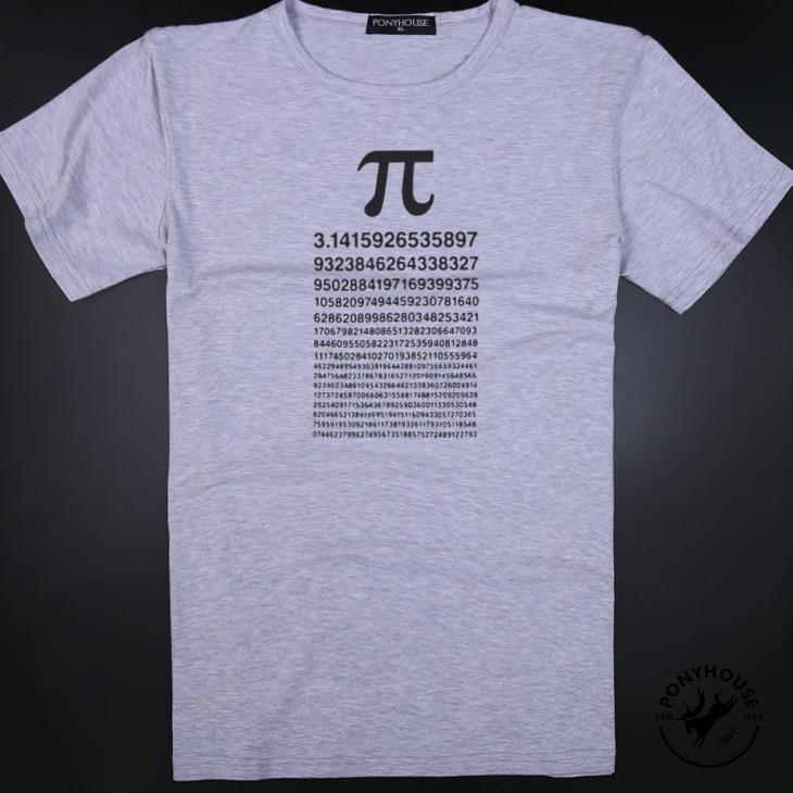 Гаджет  2015I tshirt XOV PI leisure clothes export mathematical PI T-shirt short sleeve male None Изготовление под заказ
