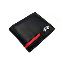 Car Wallet Driving License Credit Card Holders Genuine Leather VW Golf 5 6 7 Jetta MK5 CC Tiguan Scirocco Passat b6 b7 - Shen zheng xiao auto store