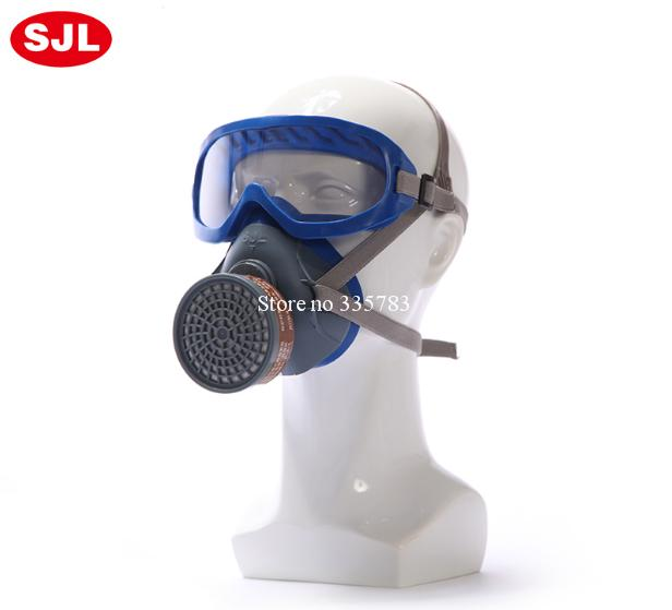 High quality protective mask multiple type filter chemical gas mask pesticide paint gas spray full face respirator gas mask(China (Mainland))