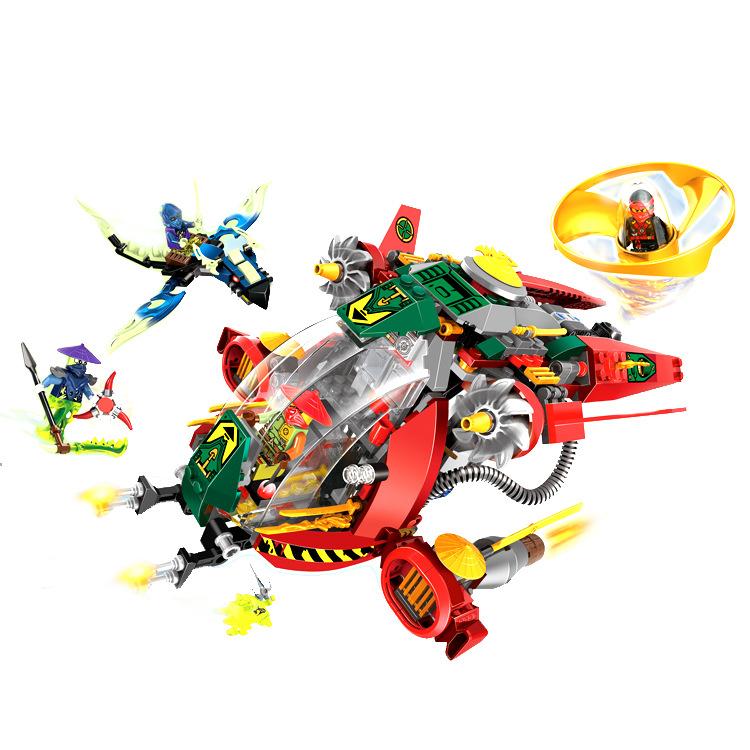 Ninjago Marvel Ninja Building Blocks 79122 Action Figure Model Kits Brick Toys Minifigures Ninjagoed Compatible Legoe magformers