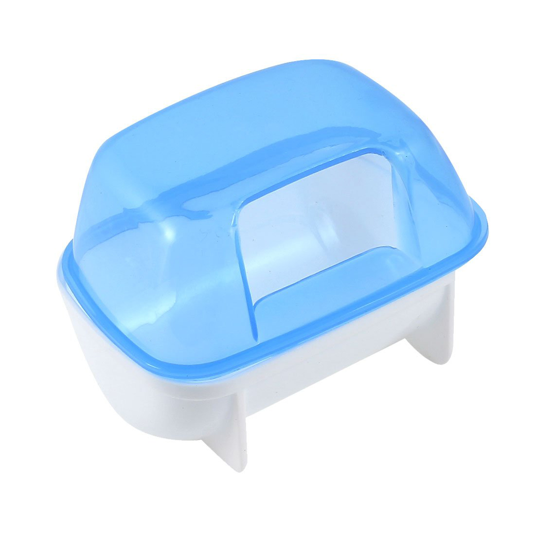 New Hotsale Best Price In Aliexpress promotion Pet Hamster Bathroom Bath Sand Room Sauna Toilet Blue White 10x7x7cm(China (Mainland))