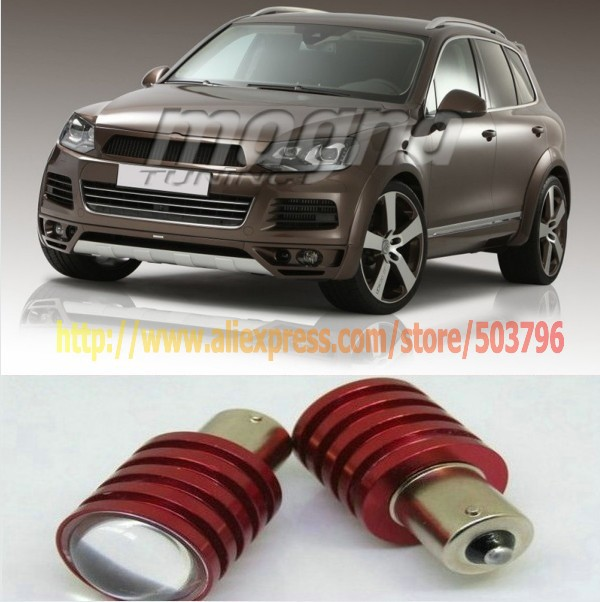 Система освещения 2 X 1156 BA15S Cree Q5 5W VW Touran Touareg 6 система освещения brand new 50 288w offroad 4wd atv 4 x 4