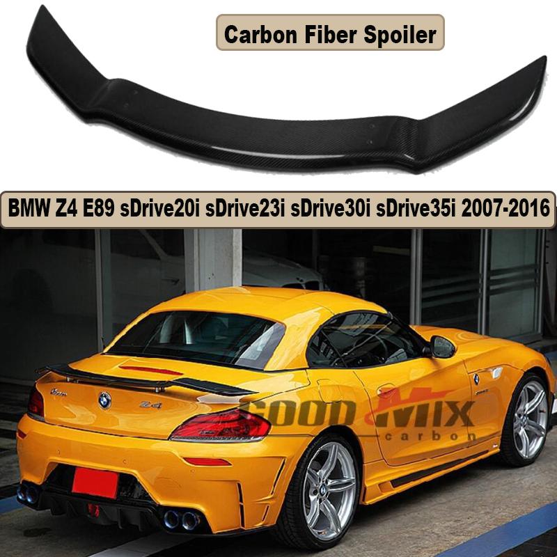 High Quality Carbon Fiber Spoiler For BMW Z4 E89 sDrive20i sDrive23i sDrive30i sDrive35i 2007-2016 Brand New Rear Spoilers(China (Mainland))