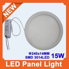 new arrival,smd3014,150leds,825lm,pwm dimmable,15W LED Panel lighting(China (Mainland))
