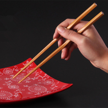 chopsticks Bamboo Chopsticks 1 pair (2 pieces ) 24cm kitchen Dining bar Tableware bamboo eco friendly Chop Sticks hot sale 2016(China (Mainland))