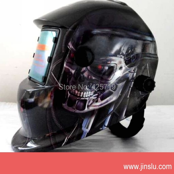 Skull welding mask welding mask for tig/arc/mig auto darkening welding helmet(China (Mainland))