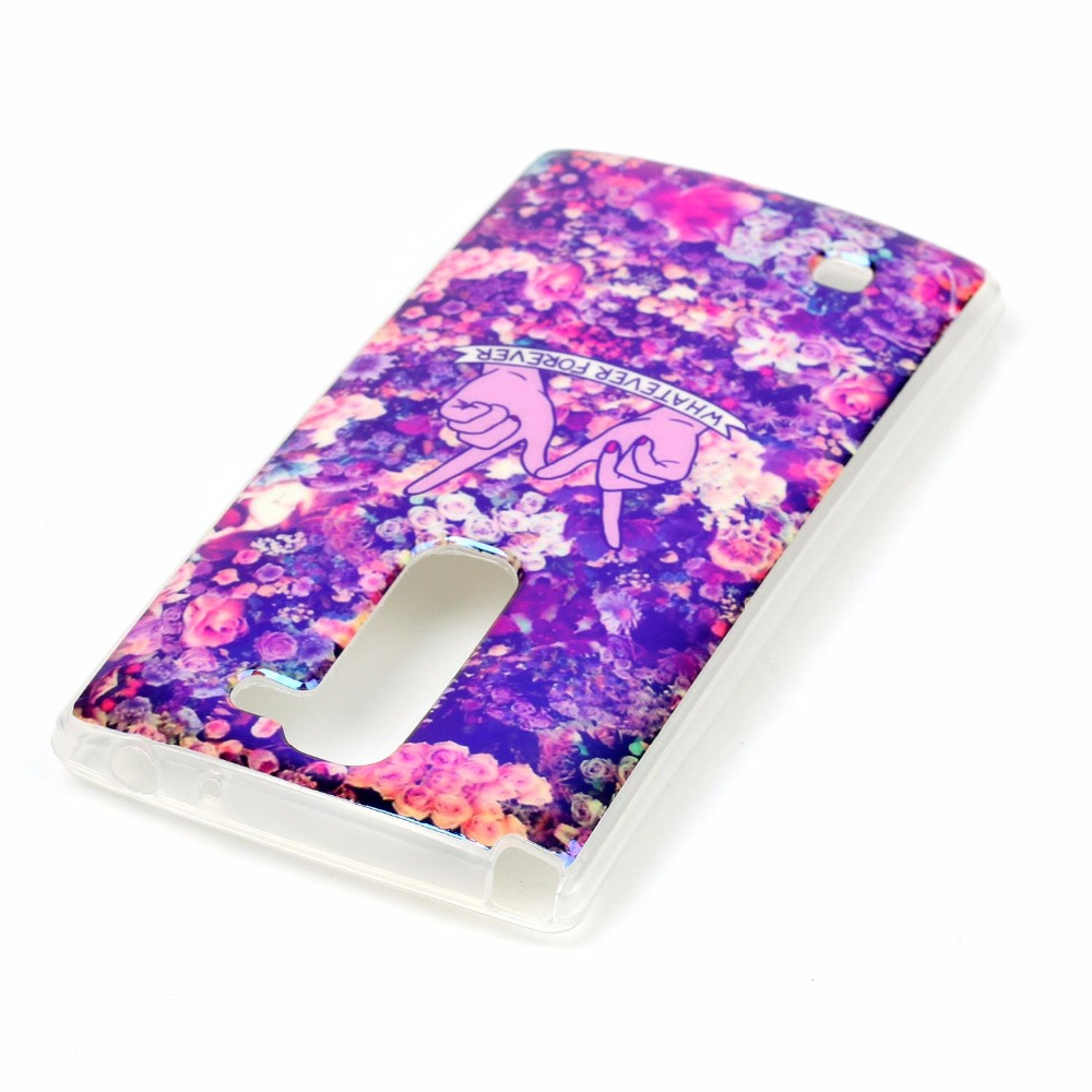 Fashion High Reflective Ultra Thin Soft Silicone TPU Colour decoration painting Case with Laser Blue light for LG C90 Back Cover(China (Mainland))