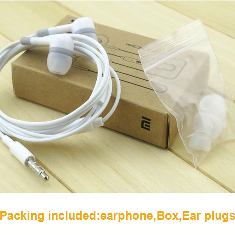 2015 New xiaomi In-Ear Best Headphones cute earphone Dr Dre. with microphone jack plug bass 3.5mm ear buds for iphone Hot sale(China (Mainland))