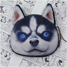 Coin Purse All kinds of animal pattern latest designer unusual dog purse factory wholesale dog fabric