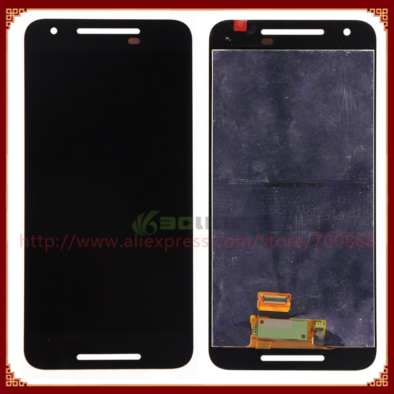 5PCS/LOT Full LCD Display Screen With Touch Screen Digitizer Assembly For LG Nexus 5X For Google Nexus 8 LCD Screen Free DHL