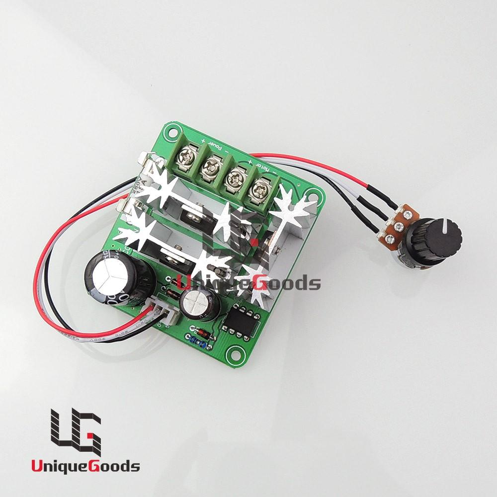 6v 90v Pulse Width Pwm Dc Motor Speed Regulator Controller