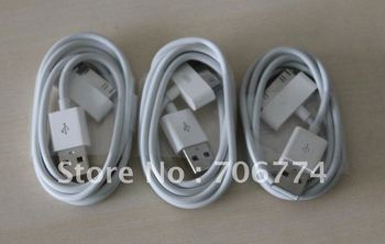 usb cable for iPhone 4 4S 3G 3GS free shipping by DHL 500PCS/LOT