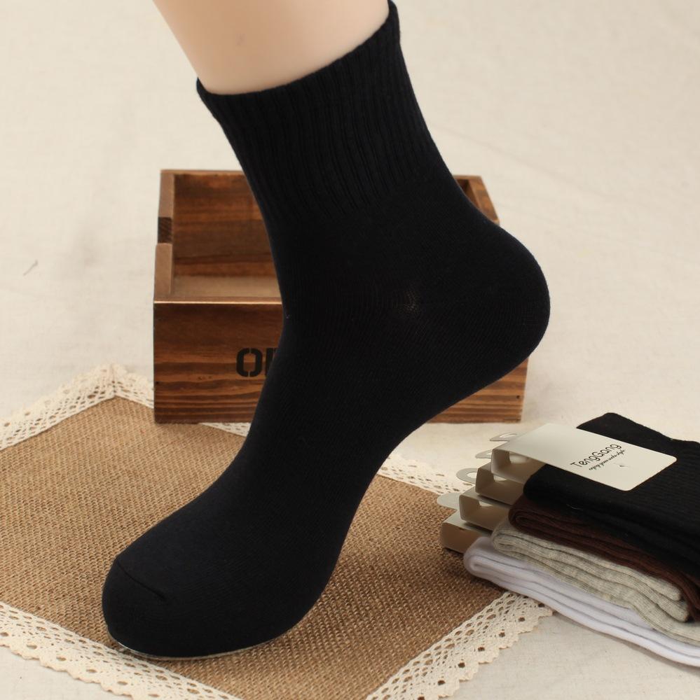 2014 Autumn and Winter Men Socks Businessman Bamboo Fiber Antibacterial Deodorant Commercial Casual Socks For Men For 4 Seasons(China (Mainland))