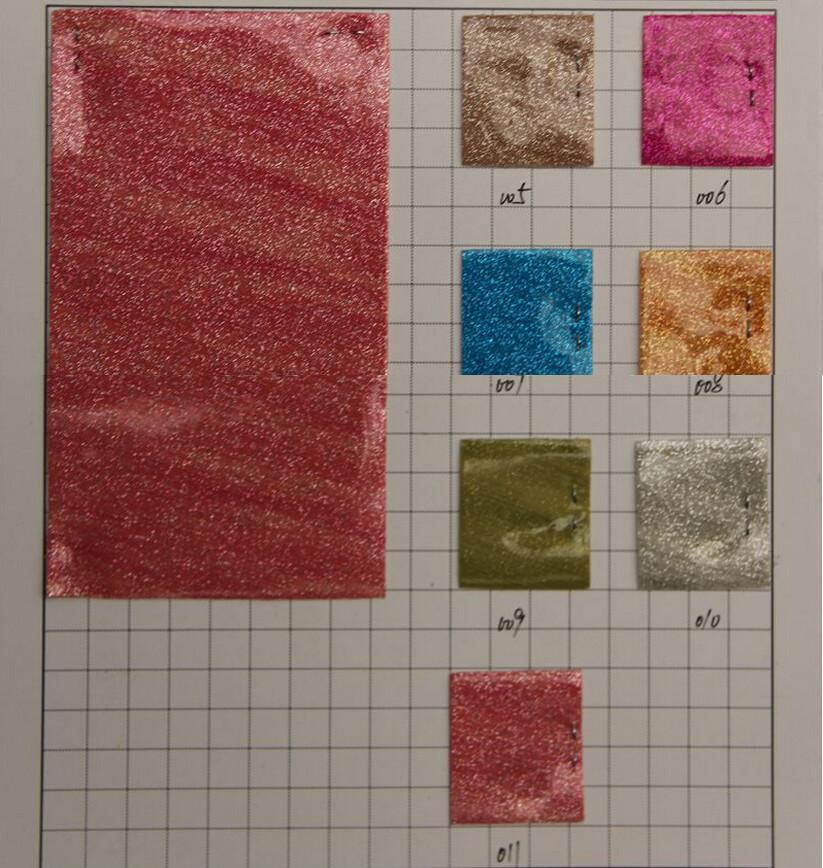 Meteor shower waterproof vinyl fabric high quality pu glitter wallpaper faux leather glitter pu factory wholesale free shipping(China (Mainland))
