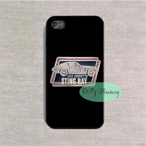 1963 CORVETTE STING RAY case for iPhone 4s 5s SE 5c 6s Plus iPod 4 5 6 Samsung s3 s4 s5 mini s6 s7 edge plus Note 2 3 4 5(China (Mainland))