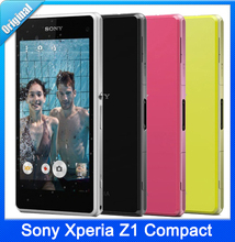 Original Sony Xperia Z1 Compact D5503 Cell phone Quad-Core Android OS 2GB RAM 16GB ROM 4.3″ Screen 20.7MP WIFI GPS Free Shipping
