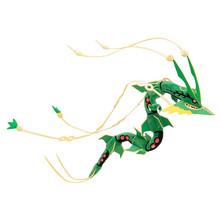 88cm Pokemon go Emerald Version Rayquaza Anime Plush Soft Toys Pokemon go Doll Toy Stuffed Plush Classic Anime Free Shipping