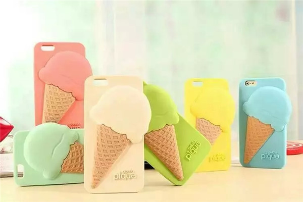 Гаджет  6 Colors Lovely gelato pique ice cream silicone back cover mobile phone cases skin for iphone 4 4s 5 5s 5c cell phone cover 1pc None Телефоны и Телекоммуникации