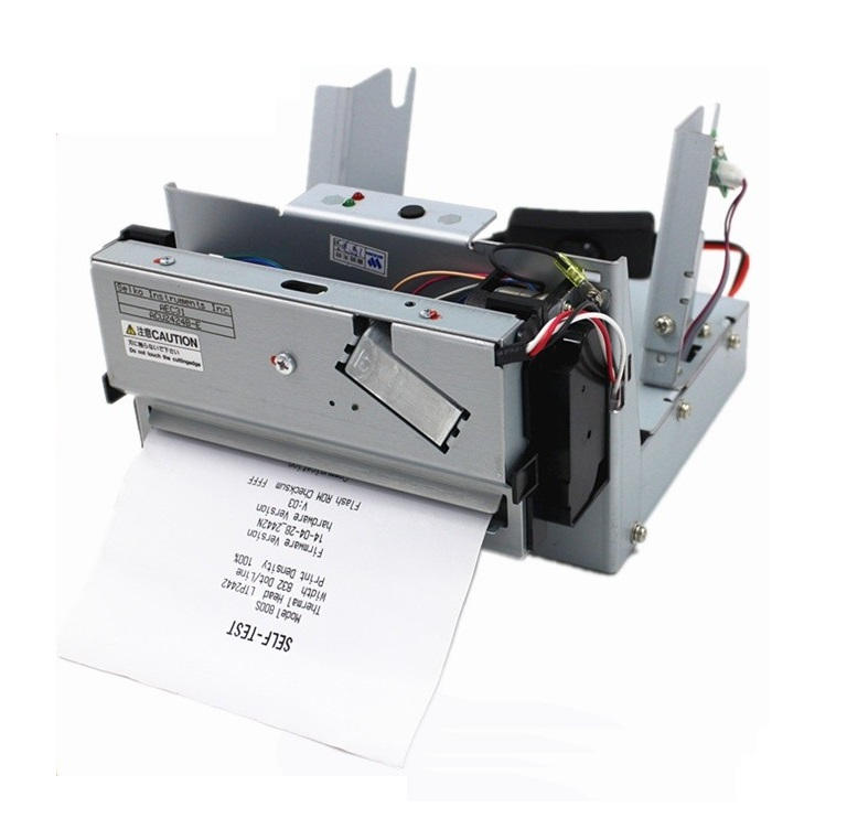 4inch/112mm paper width thermal printer supporting bar code, auto cutter,Thermal dot line printing,linux driver,24V high speed